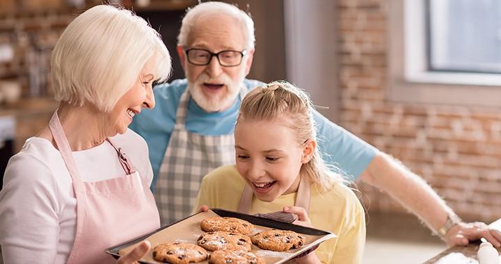 Üzenet a nagyszülőknek: ne édességgel mutassátok ki