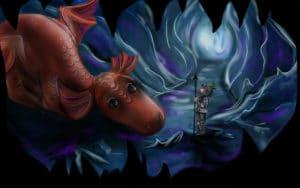 Nyírő Szabina Dóra: Sárkányos mese (mese)