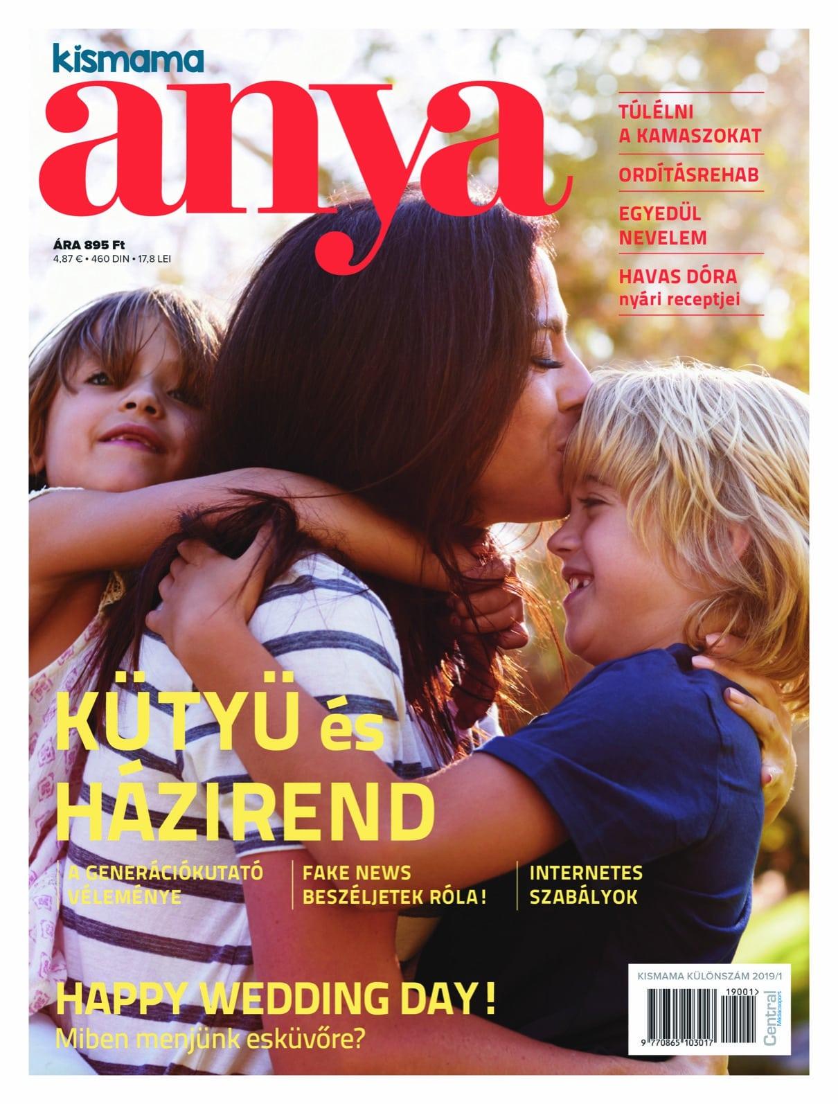 Az ANYA magazin becélozta az Y-generációt is!