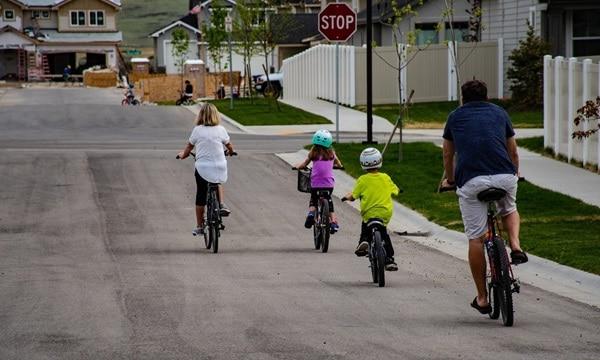 10 legkedveltebb biciklis útvonal kisgyerekkel