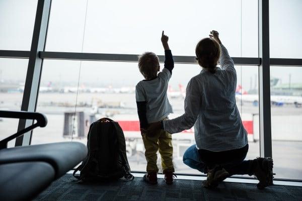 Repülni kisgyerekkel- merész vállalkozás