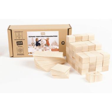 Just Blocks közepes építőjáték szett 166 db minimag