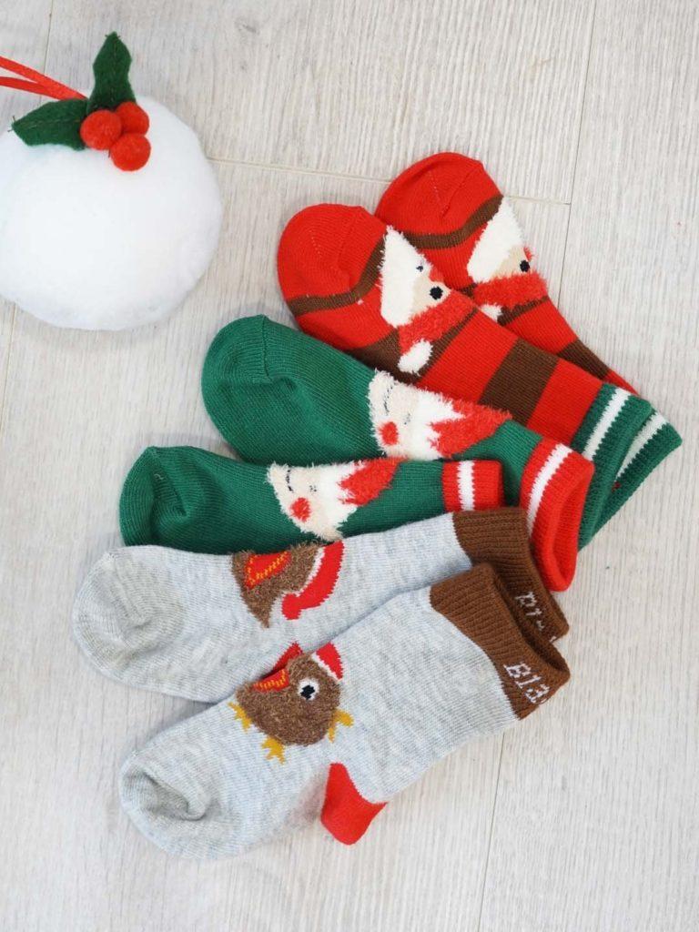 Karácsonyi gyerek zokni válogatás 3 darabos