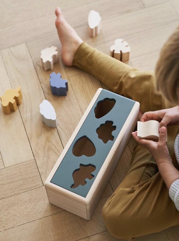 LIEWOOD fa kirakós játék - Dínó mix