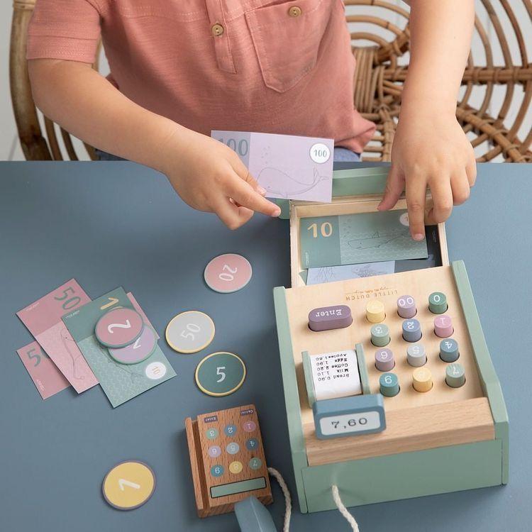 Little Dutch – Fa pénztárgép minimag