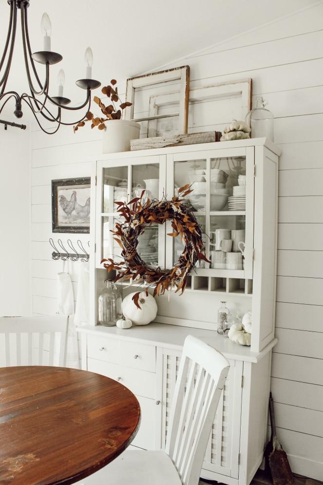 őszi konyhai dekoráció