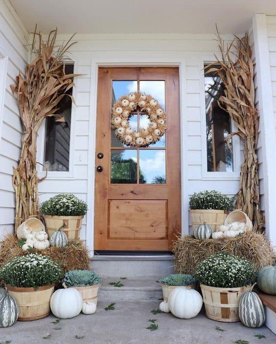 őszi dekorációs tippek kültérre
