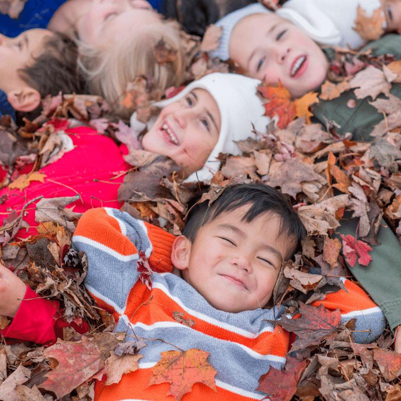 ősz levelek gyerekek