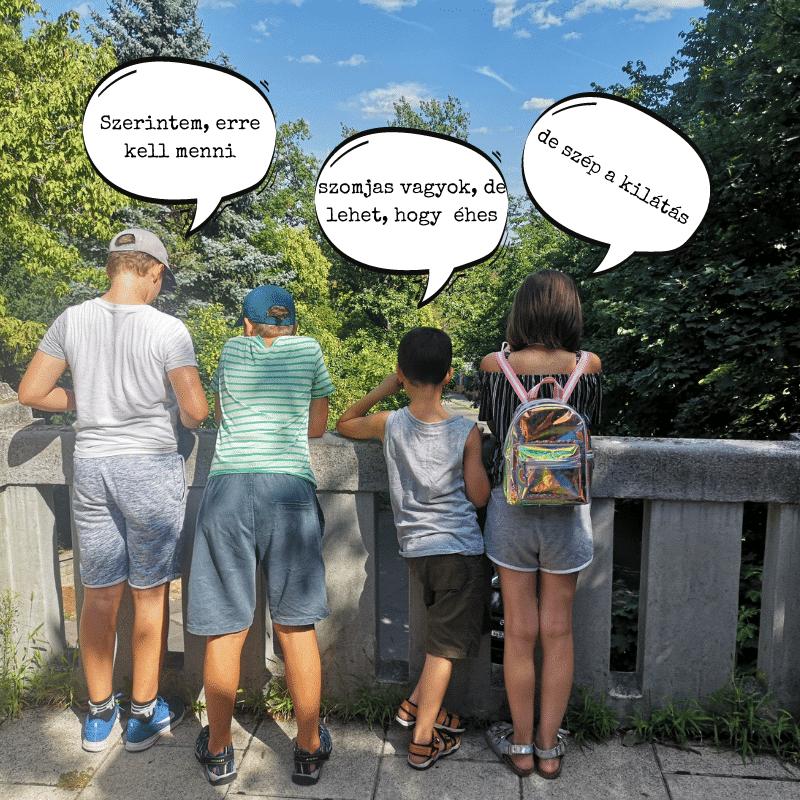 Pagony séta Gellérthegy minimag csapat