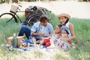 családi piknik minimag