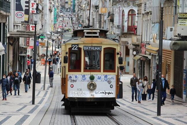 Porto villamos