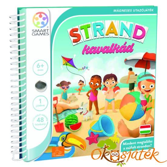 Strand kavalkád mágneses logikai játék Smart Games - Okosjáték
