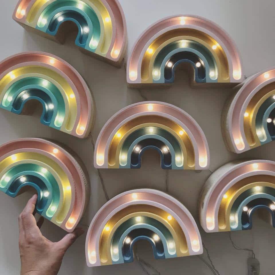 Little Lights Rainbow Mini Lámpa