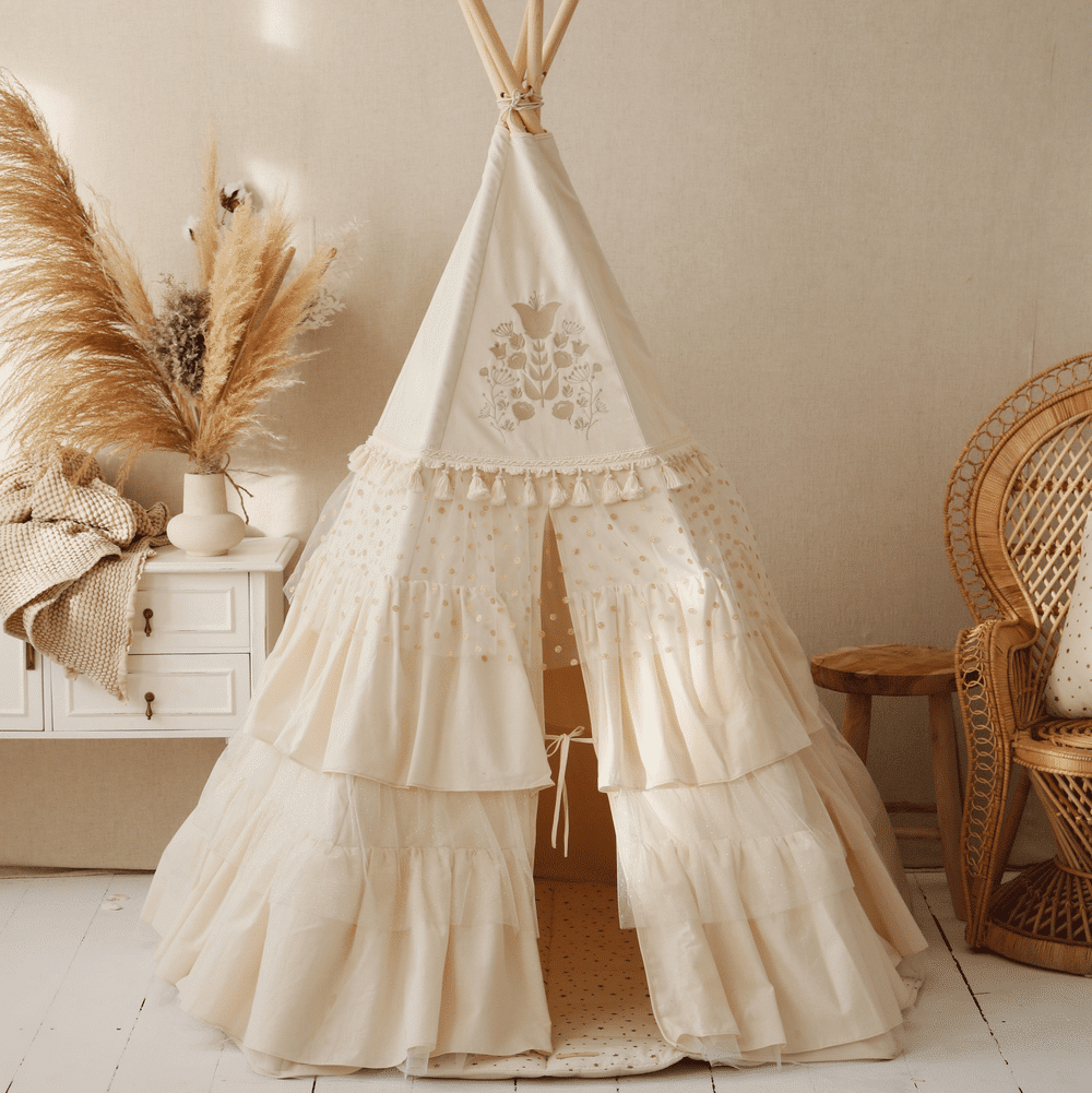 Tipi indián sátor – Boho